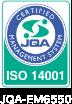 ISO 14001 JQA-EM6550